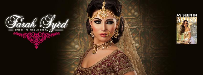 Asian Bridal Makeup and Hair Courses, Asian Makeup Artist in London   Farah Syed