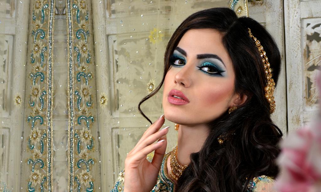 Arabic Eye Makeup Walima Bride