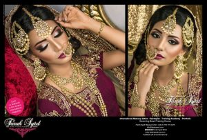 Asian Bridal Makeup- Asiana Summer 2017 main run