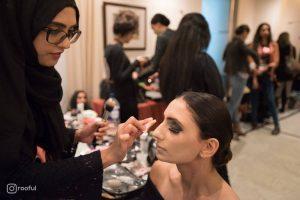 Bangladesh Fashion Week Backstage Makeup