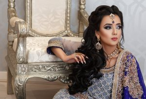 Asian Bridal Makeup as seen in Asiana Magazine